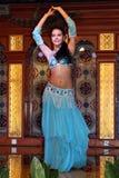 Xinjiang belly dancer Stock Photos