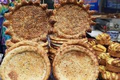 Xinjiang called naan bread Stock Photos