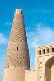 XINJIANG, CHINA - 3 de mayo de 2015: Emin Minaret (Sugongta) un famoso imágenes de archivo libres de regalías