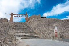 XINJIANG, CHINA - May 21 2015: Stone City Site of Tashkurgan. a Stock Photos
