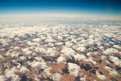 Xinjiang, China, tianshan mountain, aerial  Royalty Free Stock Photo
