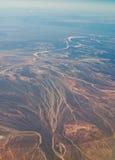 Xinjiang, China, tianshan mountain, aerial  Stock Photography