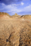 Xinjiang, china: yardang landform Stock Images