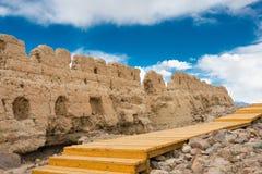 XINJIANG CHINY, Maj, - 21 2015: Kamienny miasta miejsce Tashkurgan A Zdjęcia Royalty Free