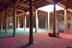 XINJIANG, CINA - 3 maggio 2015: Emin Minaret (Sugongta) un famoso Fotografie Stock