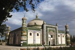 Xinjiang: de Islamitische bouw royalty-vrije stock fotografie