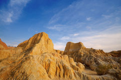 Xinjiang desert,Western China Stock Photos