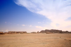 Xinjiang desert,Western China Royalty Free Stock Images