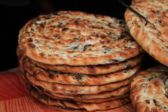 Xinjiang food. Baked bread of xinjiang province,china Royalty Free Stock Images