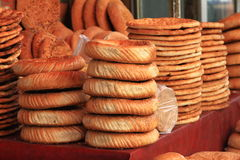 Xinjiang food. Baked bread of xinjiang province,china Royalty Free Stock Photos