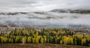 Xinjiang Hemu village scenery Royalty Free Stock Images