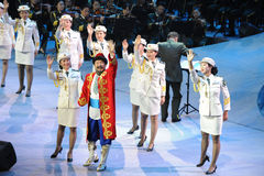 Xinjiang singer Karim uncle-theFamous and classicconcert Stock Images