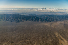Xinjiang Tianshan scenery overhead Royalty Free Stock Images