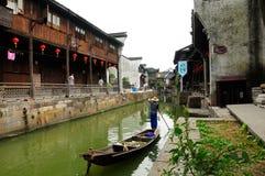 Xinshi Water Town Stock Images