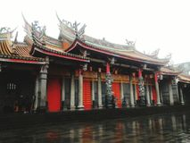 Xintian tempel Royaltyfri Bild