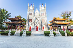XiShenKu church Stock Photography