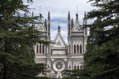 XiShenKu Katholieke kerk Royalty-vrije Stock Foto's