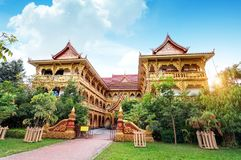 Xishuangbanna temple architecture Stock Images