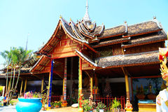 Xishuangbanna , Yunnan, China. Hinayana Buddhism culture  in Xishuangbanna , Yunnan, China Royalty Free Stock Photography