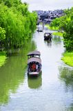 Xitang ancient water Town China Stock Image