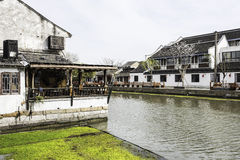 Xitang Ancient Watertown scenery royalty free stock photo