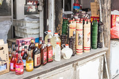 Xitang millet wine royalty free stock photo