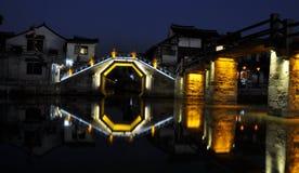 Xitang old town night Stock Image