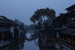 Xitang, Venezia orientale Fotografia Stock