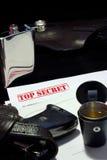 Éxito del espía Imagen de archivo libre de regalías