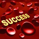 ?xito en sangre Fotografía de archivo libre de regalías