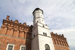 XIV century Town Hall on the market , Sandomierz, Poland Royalty Free Stock Images
