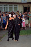 XIV festival del International del teatro de la calle Fotos de archivo