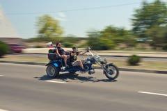XIV International Moto Bike Show Stock Photography