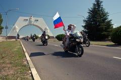 XIV International Moto Fahrrad-Erscheinen Lizenzfreie Stockbilder