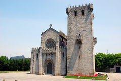 XIV th Century Monastery. The XIV th Century Monastery located in Leca do Balio, Portugal Royalty Free Stock Photography