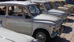 XIV zawody międzynarodowi koncentracja SEAT 600 w Leon fotografia stock