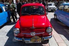 XIV zawody międzynarodowi koncentracja SEAT 600 w Leon zdjęcia stock