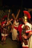 XIX编辑安蒂尼亚诺通过Crucis (在) -行动选拔2007年 库存照片