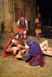 XIX编辑安蒂尼亚诺通过Crucis (在) -行动选拔2007年 库存图片