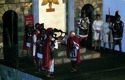 XIX вариант Antignano через поступок Crucis (НА) - определяет 2007 Стоковые Изображения RF