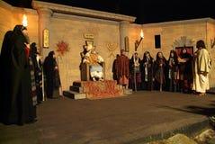 XIX Antignano Przez wydanie Crucis (PRZY) - aktu przerzedże 2007 Zdjęcie Stock