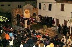 XIX Antignano Przez wydanie Crucis (PRZY) - aktu przerzedże 2007 Obrazy Royalty Free