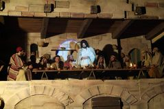 XIX Antignano Przez wydanie Crucis (PRZY) - aktu przerzedże 2007 Obraz Stock