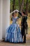 XIX Century Romantic Story Stock Photography