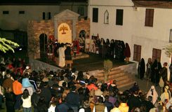 XIX a edição Antignano através do ato de Crucis (EM) - escolhe 2007 Imagens de Stock Royalty Free