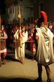 XIX a edição Antignano através do ato de Crucis (EM) - escolhe 2007 Fotografia de Stock Royalty Free