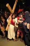 XIX a edição Antignano através do ato de Crucis (EM) - escolhe 2007 Fotos de Stock