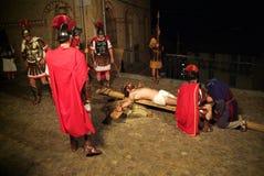 XIX a edição Antignano através do ato de Crucis (EM) - escolhe 2007 Foto de Stock Royalty Free