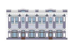XIX edificio del siglo Fotografía de archivo libre de regalías