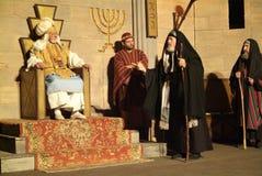 XIX edition Antignano Via Crucis (AT) -Act single 2007 Royalty Free Stock Image